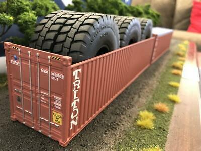 1:50 Triton 40' 9'6 Open Top Shipping Container -- Iconic Replicas Diecast