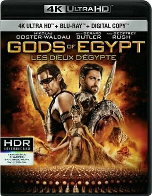 Gods of Egypt [4K+Blu-ray] New and Factory Sealed!!