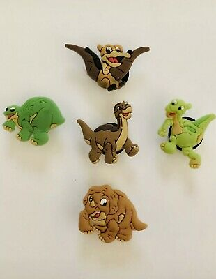 The Land Before Time Set Of 5 Shoe Charms For Croc Shoes