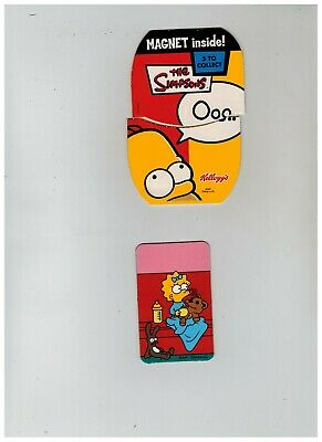 The Simpsons Bart as a Vampire Creature of the Night Refrigerator Magnet UNUSED