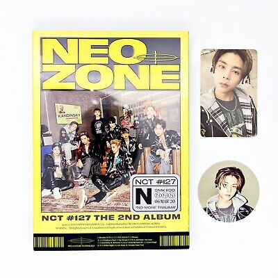 [NCT127] 2nd Album / NCT #127 Neo Zone (N ver.) + Johnny pcs