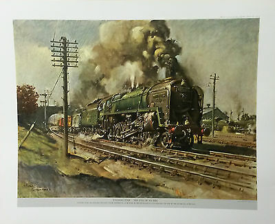 EVENING STAR -THE END OF AN ERA by Terence Cuneo,Print