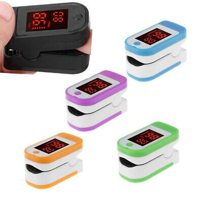 Fingertip Pulse Oximeter Blood Pressure SpO2 Oximetry Heart Rate Meter Monitor
