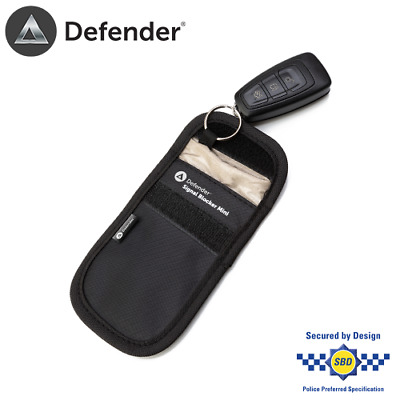 Defender Signal Blocker Car Key Pouch RFID Blocking Faraday Case Relay Theft