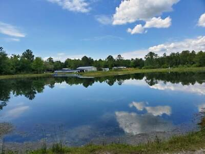 Aquaculture Farm Sunny St. Augustine Florida 23 Acres Next to Wildlife Park