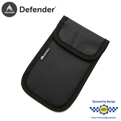 Defender Signal Blocker Black Car Key Mobile Phone Faraday Pouch RFID Blocking