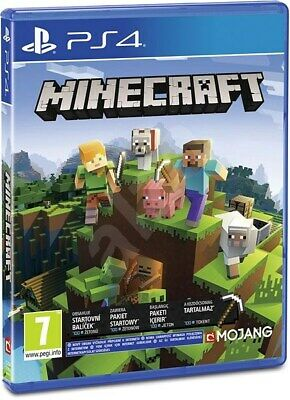 Minecraft Bedrock Edition PS4 - Fast & Free Delivery