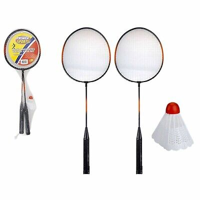 2 Player Badminton Set With 2 Rackets & Shuttlecock Suitable Indoor & Outdoors
