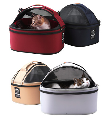 Pet Cat Urban Circle Dome Carrier Breathable Portable Carrying Bag