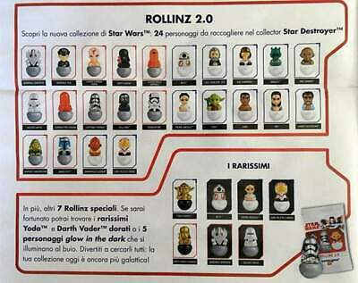 Star Wars Rollinz 2.0 Esselunga - Statuine