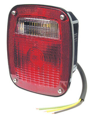 Grote STT LAMP, RED, SUPERNOVA LED, W/LIC, 50972 STYLE (50920)