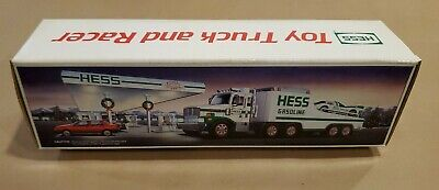 Hess Truck 1988 Toy Truck and Racer