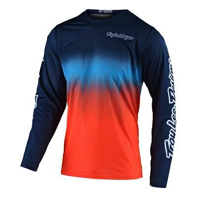 Troy Lee Designs Kids Jersey GP Stain'd - Navy/Orange