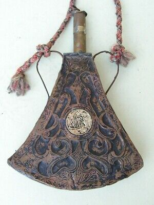 Ancienne Poire A Poudre Afrique Du Nord 1340 Maghreb North Africa Powder Flask