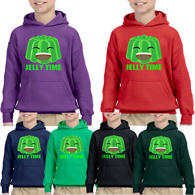 Jelly Viral Gamer Hoodie Kids Youtube Player Jelly Time Fans Birthday Gift