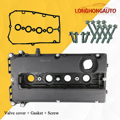 Engine Valve Camshaft Cover w/GASKET For Chevy Cruze Sonic Aveo Saturn Astra 1.8