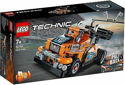 LEGO Technic Race Truck / Car  PULL BACK 2-in-1 Technical Building Set for Boys