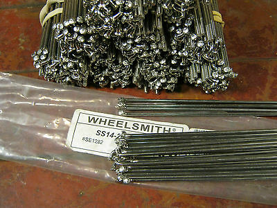 WHEELSMITH DB14 Spokes Silver 2.0//1.7mm Dbl Butted*Any Qty /& Length*USA Made NEW