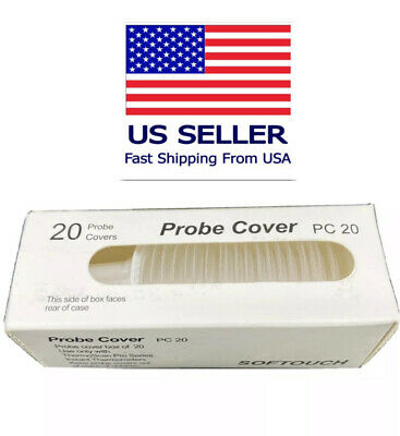 20Pcs Braun Ear Thermometer Replacement Filter Probe Covers Caps Thermoscan