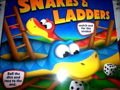 *Snakes & Ladders Or Ludo!* New & Sealed. Traditional Family Games.