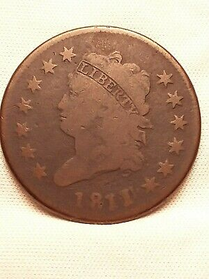 1811/0  Classic Head Large Cent.