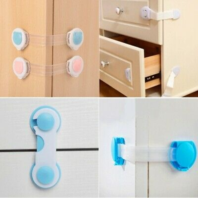 Child Safety Cabinet Lock Baby Proof Security Protector Drawer Door Cabinet Lock