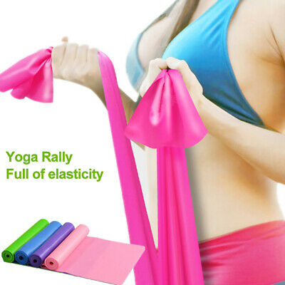 1m Thera Band Resistance Bands Theraband Ballet Pilates Yoga Gymnastics Stretch