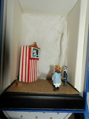 Fine Art Cast Metal Miniatures Punch And Judy  With Cert Boxed No,142 As Shown