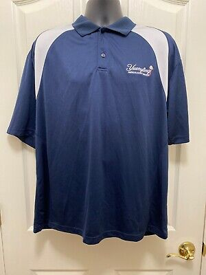 Yuengling Brewery Company Issued Blue Polo Dress Shirt Size XL Beer Distributor