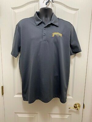 Sweetwater Brewing Company Issued Grey Polo Dress Shirt Size Lg Beer Distributor
