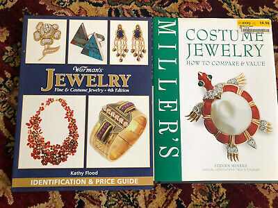 2 Collector's Warman's & Miller Fine & Costume Jewelry Reference Books