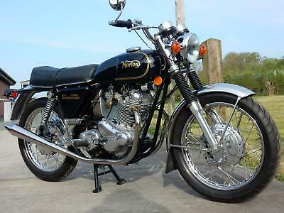 NORTON COMMANDO 750 1972 42nd DESPATCHED IN STUNNING CONDITION-see video