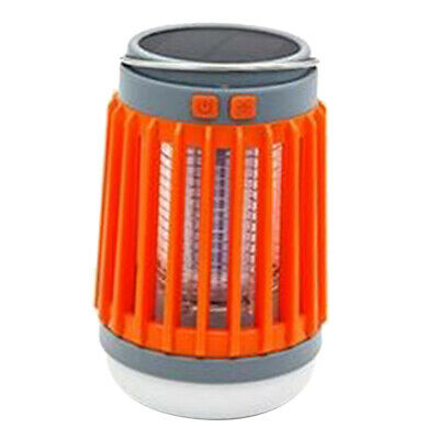 Mosquito Killer UV Light Solar Energy LED Lamp Fly Insects Pest Traps Zapper