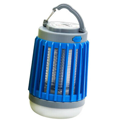 Portable Indoor Outdoor USB LED Lights Fly Pest Bug Mosquito Killer UV Lamp Trap
