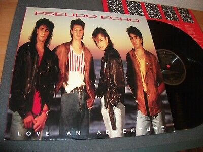Pseudo Echo Love An Adventure Vinyl Lp Pl 90024 Excellent -