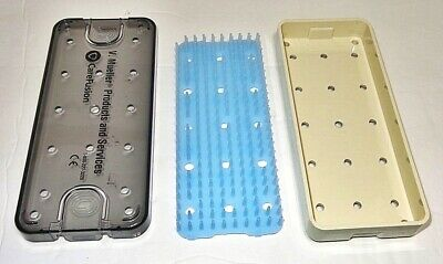 V. Mueller GP1-3600 Small Sterilization Tray Ophthalmic Surgical Instrument Tray