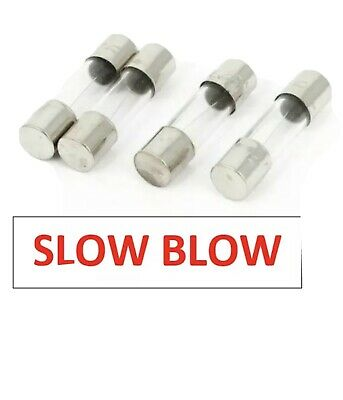 1.25 Amp 1.25A F1.25A F1.25AL 250v Fast Quick Blow 20 x 5mm Glass Fuse x10