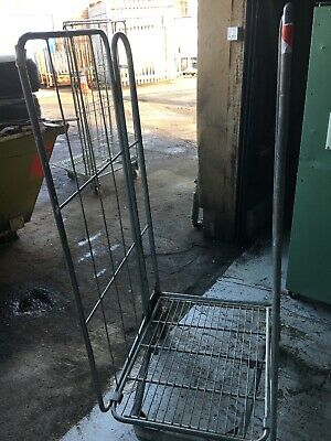 Warehouse Cage Trolley Qty 1
