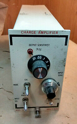 Unholtz - Dickie 122P Charge Amplifier - Fast Shipping