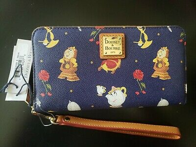 Disney Dooney And Bourke Beauty And The Beast Wallet Nwt 195 00 Picclick