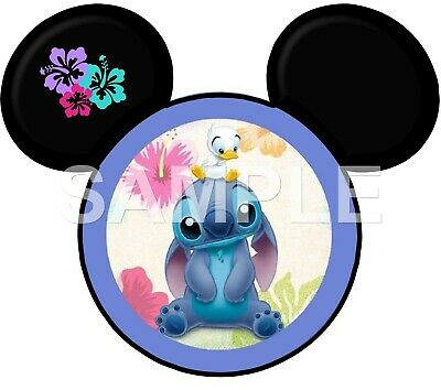 Disney Lilo /& Stitch iron on or sublimation transfer choice of 1