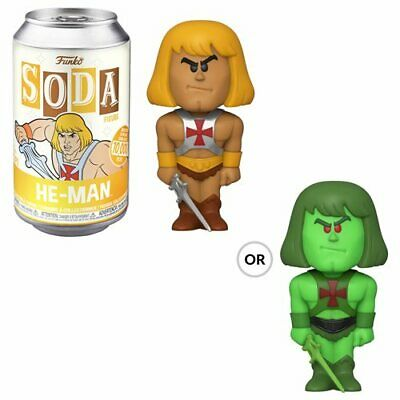 Masters Of The Universe Funko Soda He-Man Unopened Can Free Shipping