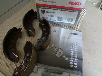 Genuine Alko 200x50 Trailer Brake Shoe Kit (Axle set)