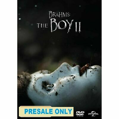 Brahms - The Boy II(DVD)RELEASE DATE 5.06.2020 - Brand New - Region 4 - PRESALE