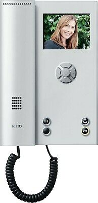 RITTO TwinBus Video-Hausstation Color Komfort RGE1786520 silber NEU & OVP!