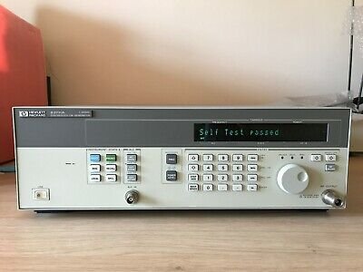 Agilent/HP 83711A opt .1E1, CW Signal Generator, 1-20 GHz , Working & Tested!!!