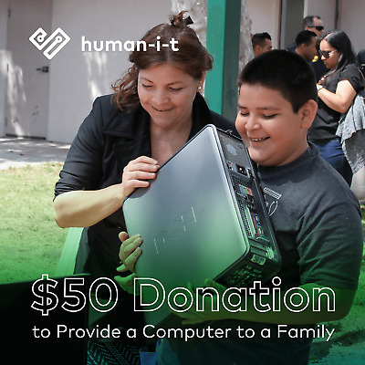 $50 Charitable Donation For: Computer for a Family