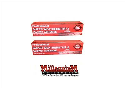 2 Pack Professional Super Weatherstrip & Gasket Adhesive Pro Seal 88881 PROSEAL