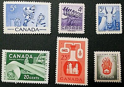 Canada Stamp - Complete Set of 1956 Issues