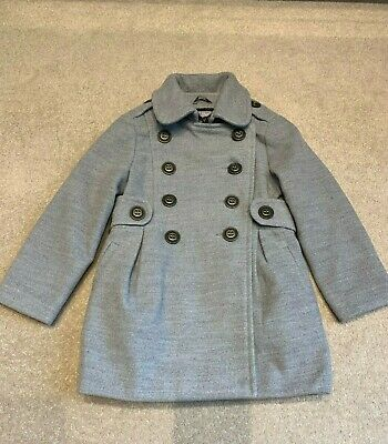 3 yrs GIRLS SMART COAT by DUNNES GREY JACKET BLAZER WINTER FORMAL IMMACULATE CON